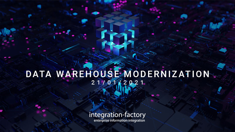 Webinar Data Warehouse Modernization