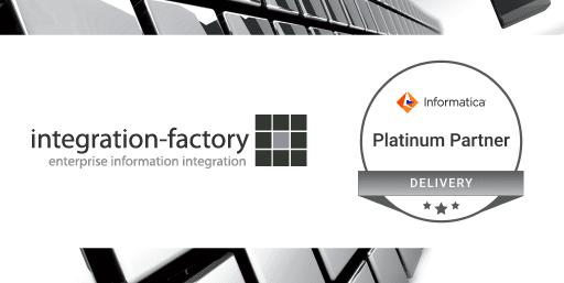 integration-factory ist Informatica Platinum Partner